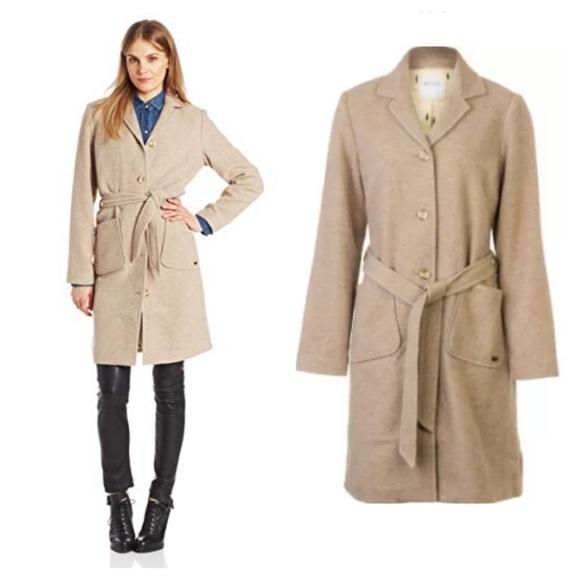 Carve Designs Jackets & Blazers - NEW Carve Designs Linden Coat Wool Blend Jacket